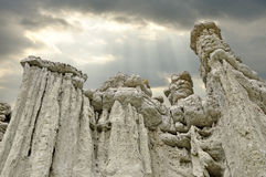 Каменные куклы на селе Kuklica Стоковая Фотография