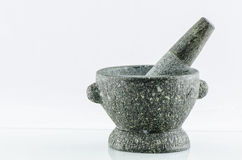 Каменные миномет и пестик Стоковое фото RF