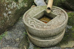 Каменные опарник или Ewer Стоковые Фото