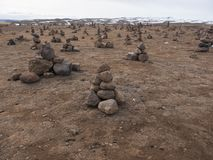Каменные пирамиды Стоковые Фотографии RF