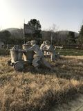 Каменные работники стоковые изображения