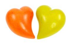 Каменные сердца Стоковое фото RF