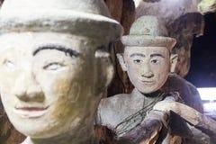 Каменные статуи стоковая фотография