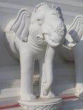 Каменные слоны Стоковые Фотографии RF