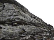 Каменные формы на холмах стоковые фотографии rf