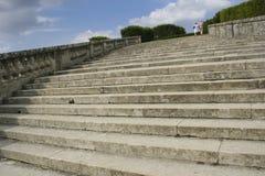 Каменные шаги outdoors Стоковая Фотография