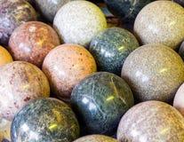 Каменные шарики с другими цветами Стоковое Фото