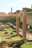 Каменные штендеры виллы Tigellio стоковая фотография