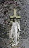 Каменный ангел стоковое фото
