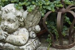 Каменный ангел Стоковая Фотография RF