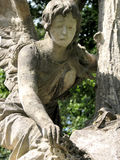 Каменный ангел горюет Стоковые Изображения RF