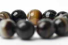 Каменный браслет на белой предпосылке Стоковое Изображение RF