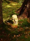 Каменный Будда стоковая фотография rf