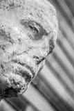 Каменный бюст Национального музея римского искусства Mérida Стоковое Фото