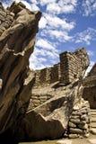 Висок кондора в Machu Pichu, Cusco, Перу Стоковое фото RF