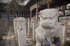 Каменный лев Стоковые Фотографии RF