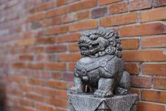 Каменный лев Стоковые Изображения