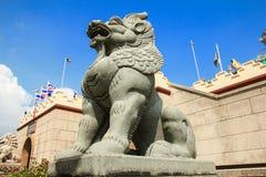 Каменный лев Стоковая Фотография RF