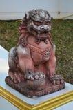Каменный лев Стоковое Изображение RF