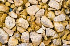 каменный желтый цвет текстуры Стоковое Изображение RF