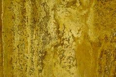 каменный желтый цвет текстуры Стоковое Изображение