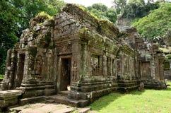 Каменный замок в Lao Стоковое Изображение