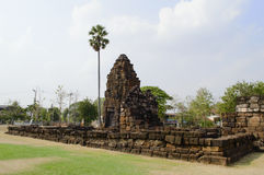 Каменный замок рамки Стоковое Фото