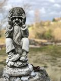 Каменный карлик Стоковое фото RF