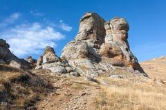 Каменный колосс Стоковые Фото