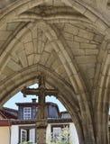 Каменный крест в памятнике Salado Стоковое фото RF