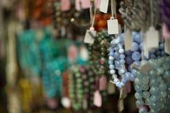 Каменный магазин моды браслета Стоковое фото RF