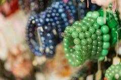 Каменный магазин моды браслета Стоковое Фото