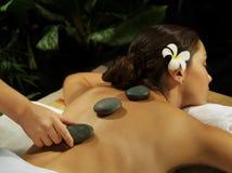 Каменный массаж Стоковая Фотография RF