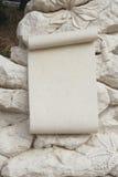 Каменный мемориальный доломит знамени Стоковое Фото