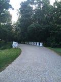 каменный мост в парке Стоковые Изображения