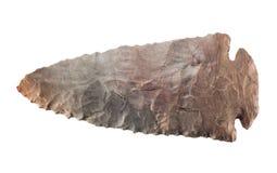 Каменный наконечник стрелы Стоковые Фотографии RF
