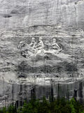 Каменный памятник горы стоковая фотография rf