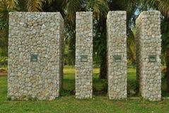 Каменный памятник Стоковое Изображение RF
