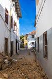 Каменный переулок городка Стоковая Фотография RF