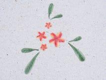 Каменный пол в саде камень текстуры в парке Стоковое Изображение RF