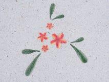 Каменный пол в саде камень текстуры в парке Стоковые Изображения RF