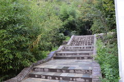 Каменный путь горы Стоковое Изображение RF