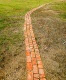 Каменный путь прогулки блока Стоковые Фотографии RF