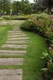 Каменный путь прогулки Стоковая Фотография RF