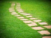 Каменный путь прогулки Стоковое Изображение RF