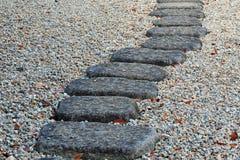 каменный путь Стоковая Фотография RF