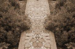каменный путь стоковые фотографии rf