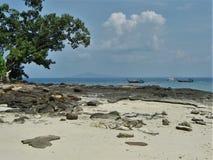 Каменный пляж Стоковое Фото