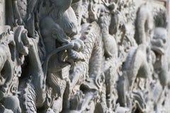 Каменный дракон стоковые изображения rf