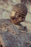 Каменный ратник Стоковая Фотография
